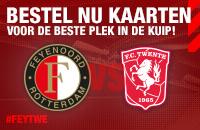 Start kaartverkoop Feyenoord - FC Twente
