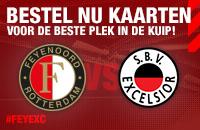Start kaartverkoop Feyenoord - Excelsior