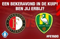 Kaartverkoop Feyenoord - ADO KNVB Beker nieuwsdetail