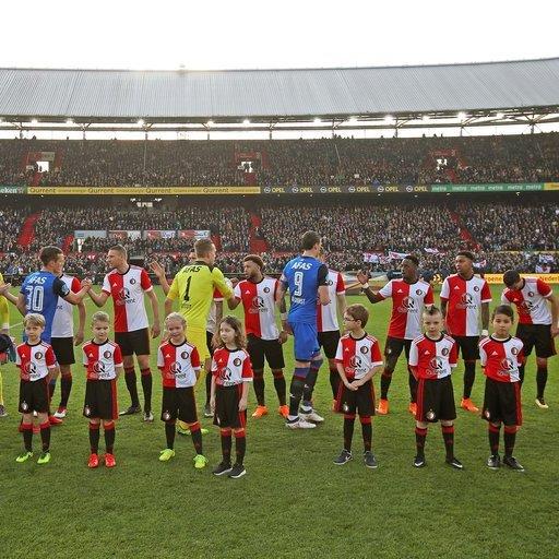 Feyenoord - AZ Wedstrijdmascottes