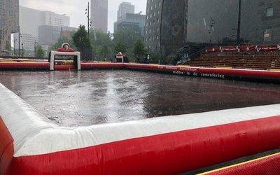 Finaledag Feyenoord Street League valt in het water