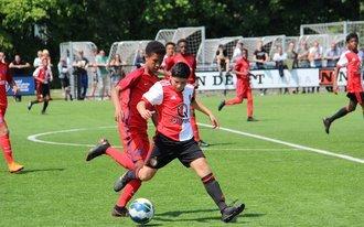 Feyenoord Academy teams actief in Europa dit Pinksterweekend Zondag update