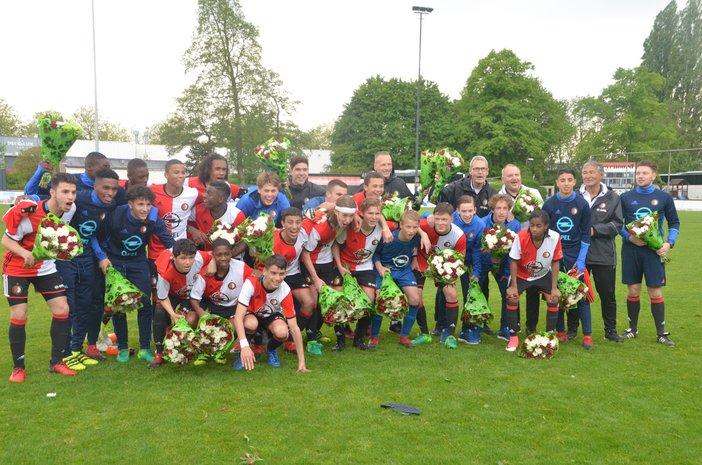 Feyenoord Onder 16 verovert landstitel