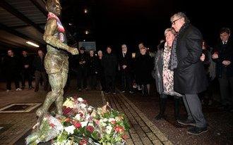 Herdenking Coen Moulijn woensdag aan Olympiazijde van De Kuip