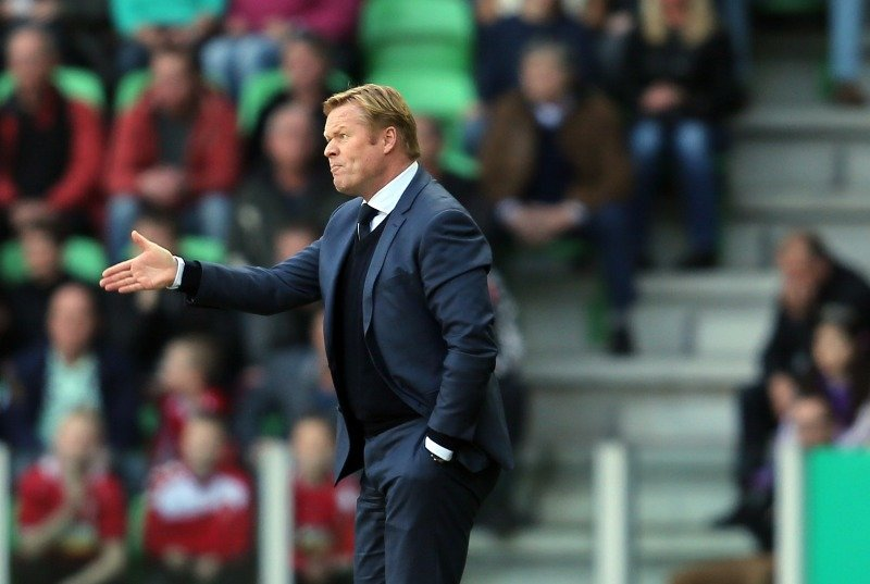 Result is all that matters to Koeman