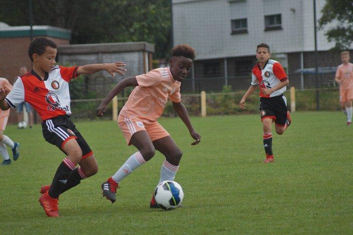 Feyenoord teams actief op toernooien in het pinksterweekend