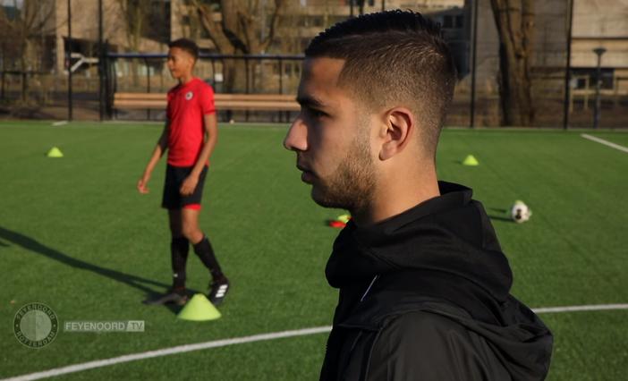 Talentenportret: trainer in opleiding Achraf El Bouchataoui