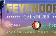 Overzicht veilingstukken Feyenoord Galadiner