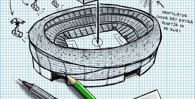 AD ontwerpwedstrijd voor nieuw stadion
