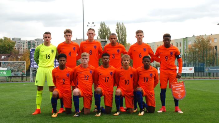 Feyenoord Academy spelers winnen met Nederland Onder 17 van Kosovo