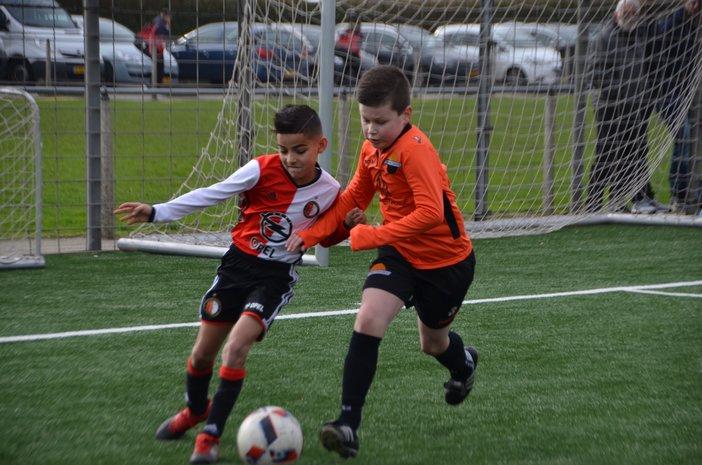 Wedstrijdverslagen Feyenoord Academy Onderbouwteams zaterdag 11 maart 2017