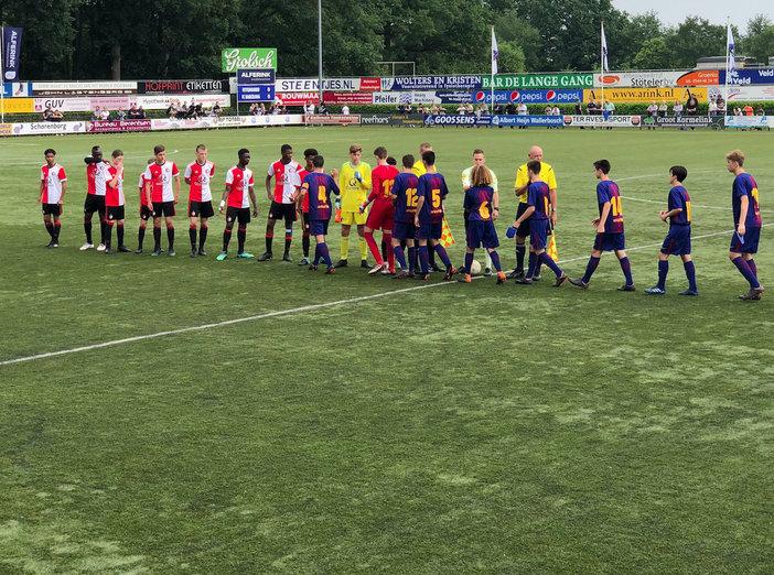 Feyenoord Academy teams actief in Europa in het weekend van 2 en 3 juni- zondag update