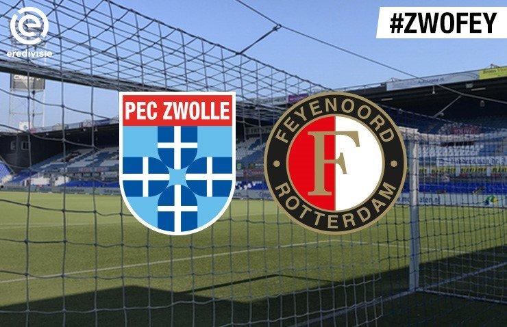 Voorbeschouwing PEC Zwolle - Feyenoord