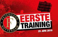 Eerste training nieuwe seizoen op 25 juni in De Kuip