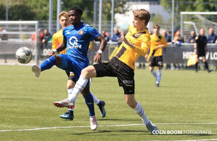 Feyenoord O19 verspeelt voorsprong en dure punten in Breda