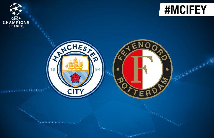 Voorbeschouwing Manchester City - Feyenoord