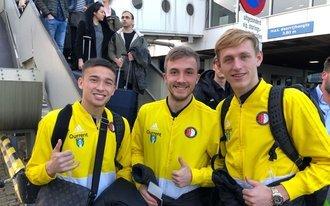 Jong Feyenoord richting Engeland voor beslissend groepsduel