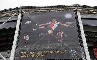 Nieuwe stadiondoeken bij Feyenoord - PSV