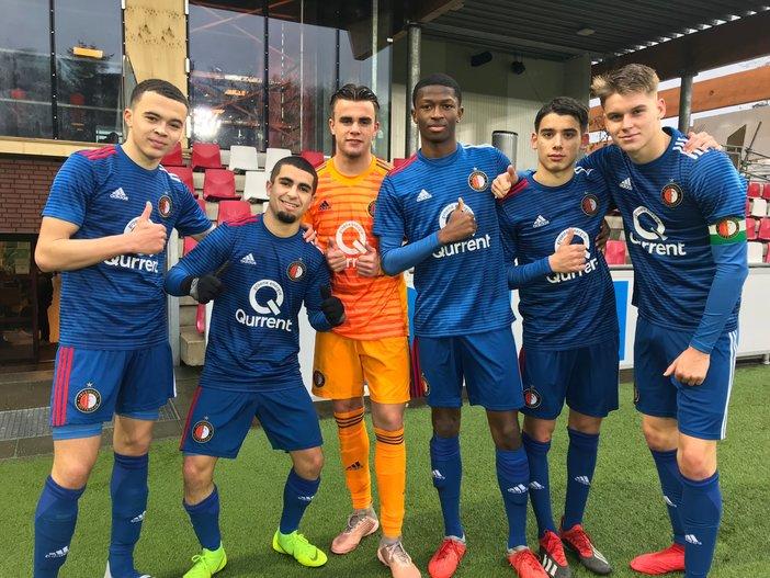 Zege op PSV bij start kampioenscompetitie voor Onder 19