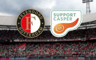 Benefietwedstrijd in teken van 'Support Casper'