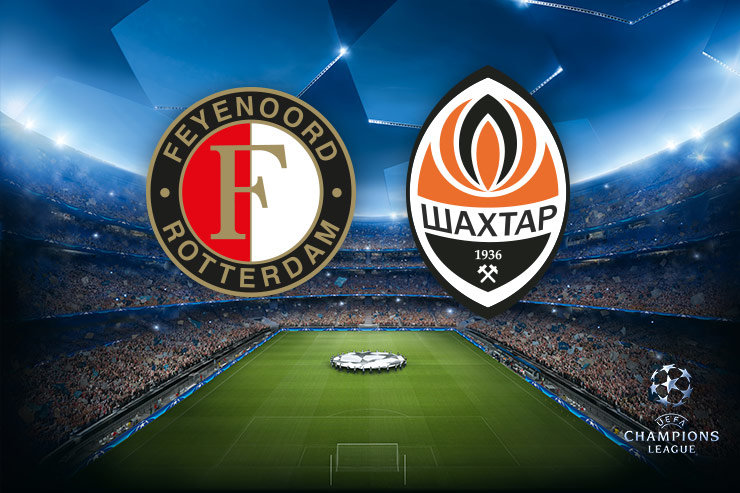 Voorbeschouwing Feyenoord - Shakhtar Donetsk