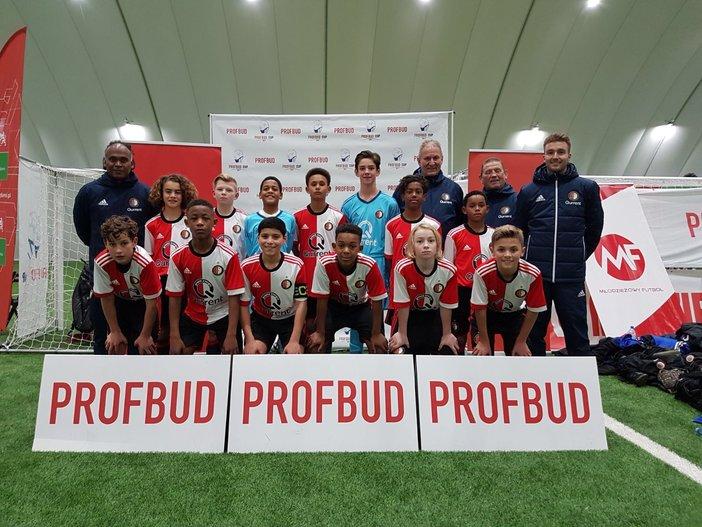 Feyenoord O13 wint toernooi in Gdansk