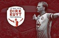 Wereldsterren in actie tijdens Dirk Kuyt Testimonial