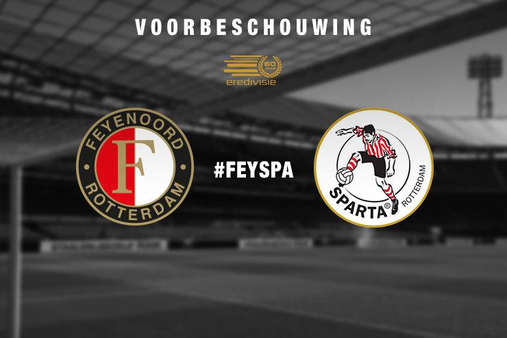 Voorbeschouwing Feyenoord - Sparta Rotterdam