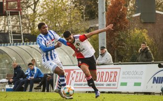Jong Feyenoord in slotfase onderuit tegen Jong FC Eindhoven