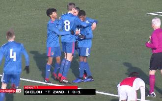 Samenvatting Ajax O16-Feyenoord O16