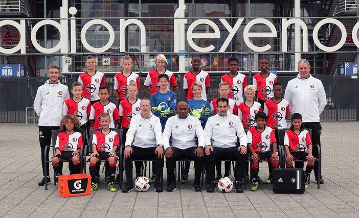 Feyenoord Onder 13 loopt bekerfinale mis na strafschoppen