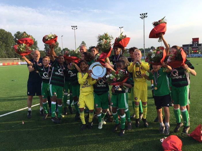 Feyenoord Onder 13 kampioen van Nederland