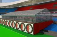 VIP-deck exclusieve setting voor Feyenoord Galadiner