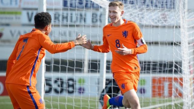 Feyenoord Academy spelers winnen met Nederland Onder 17 van Italie