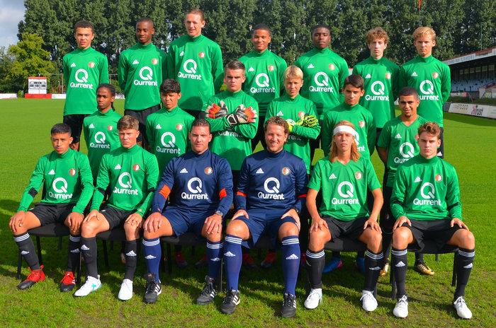 Feyenoord O17 neemt dit weekend deel aan het De Kleuver Copa Internationaal toernooi