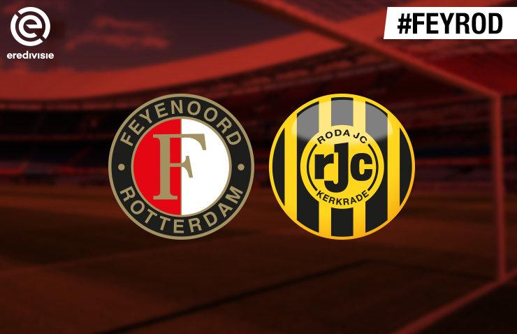 Voorbeschouwing Feyenoord - Roda JC