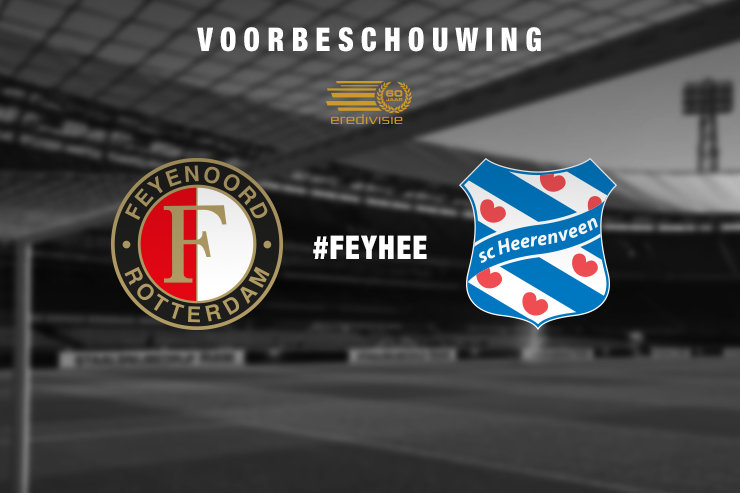 Voorbeschouwing Feyenoord - sc Heerenveen