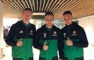 Feyenoord O19 met Bijlow en Vente naar Londen