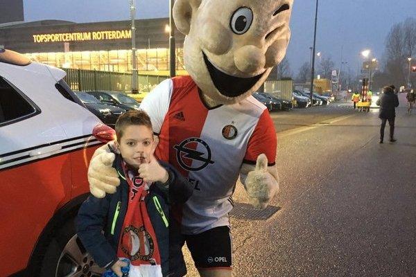 Kameraadjeswedstrijd Feyenoord - FC Groningen