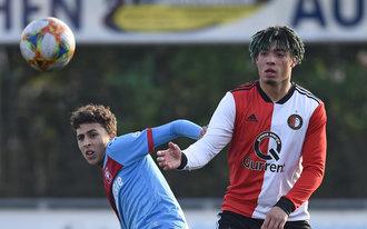 Nederlaag Jong Feyenoord bij start kampioenspoule
