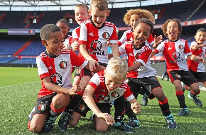 Nieuw recordbedrag voor Feyenoord Academy via VriendenLoterij