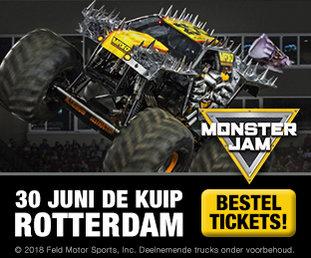 Monster Jam banner C