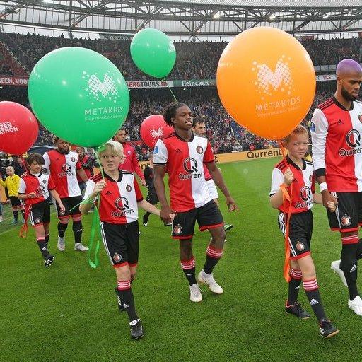 Feyenoord - FC Utrecht wedstrijdmascottes