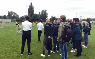 Feyenoord en Johan Cruyff Institute delen coachingstechnieken
