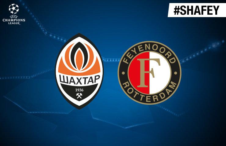 Voorbeschouwing Shakhtar Donetsk - Feyenoord