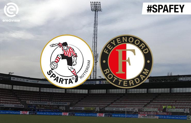 Voorbeschouwing Sparta Rotterdam - Feyenoord
