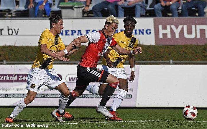Jong Feyenoord wint van Jong NAC