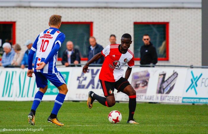 Spetterende competitiestart Feyenoord Onder 19