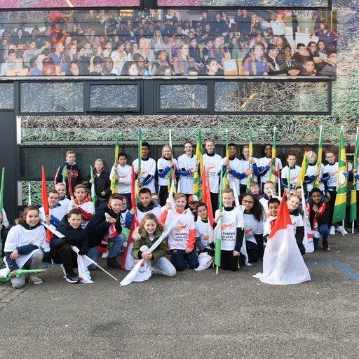 Feyenoord - ADO Den Haag Vlaggenkinderen