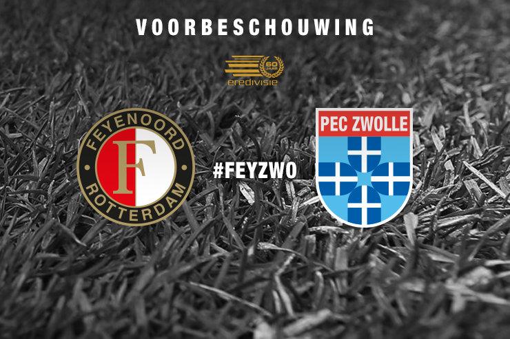 Voorbeschouwing Feyenoord - PEC Zwolle